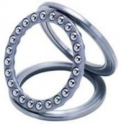 What is the purpose of thrust ball bearings